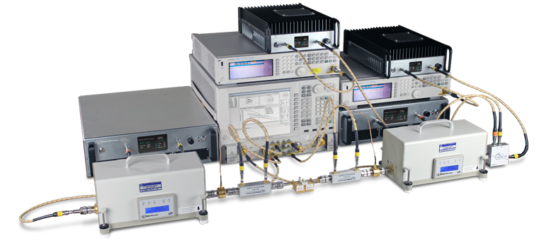 Amplifiers in Hybrid-Active Harmonic Load Pull System