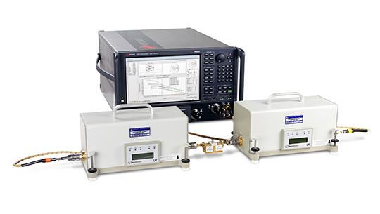 Система, моделирующая временное распределение сигнала и X-параметров