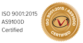 ISO 9001:2008 AS9100C Certified