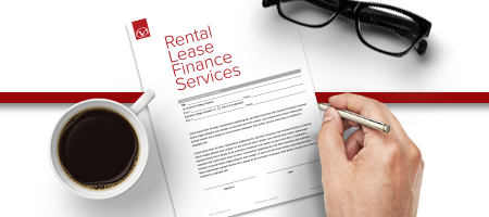 Rental, Lease, Finance Services