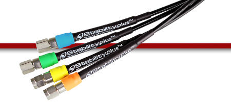 StabilityPlus™ Low Profile Microwave/RF Cable Assemblies